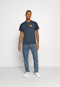 Ellesse - COPER - T-Shirt print - navy marl - 1