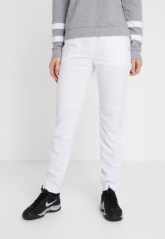 PANT PIA - Verryttelyhousut - white
