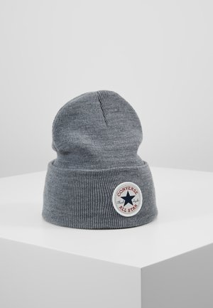 CHUCK PATCH TALL BEANIE - Čepice - vintage grey heathered