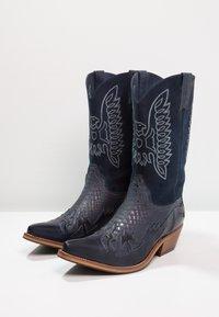 Kentucky's Western - Cowboy/Biker boots - tint/baltico - 2