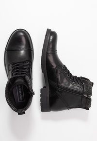 Jack & Jones - JFWMARLY - Lace-up ankle boots - black - 1