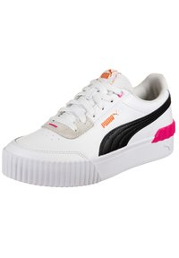 Puma - CARINA LIFT  - Sneakers laag - black /white / glowing pink