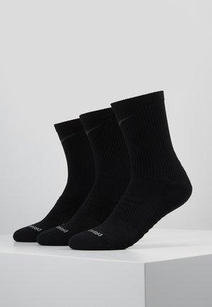 EVERYDAY MAX CUSHIONED CREW PRO 3 PACK - Sports socks - black/wolf grey