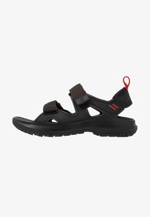 M HEDGEHOG SANDAL III - Walking sandals - black/asphalt grey