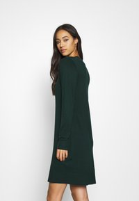 Even&Odd - JUMPER Knit DRESS - Shift dress - scarab - 2