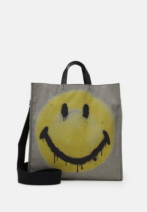 ART - Tote bag - black/yellow