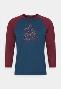 Zimtstern - PURE FLOWZ SHIRT 3/4 MENS - Sports shirt - french navy/windsor wine - 0