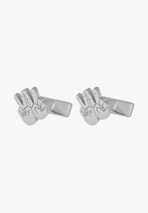 HAND - Cufflinks - silver-coloured