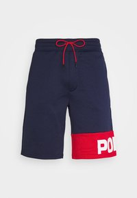 POLY TERRY - Shorts - navy