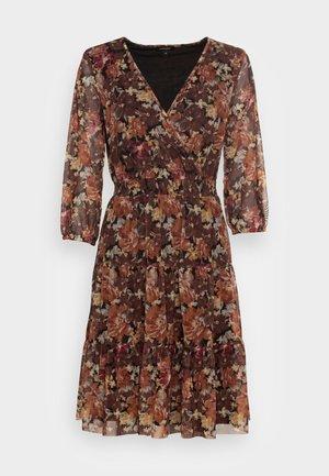 DRESS INTERLOCK - Day dress - orange flame multi