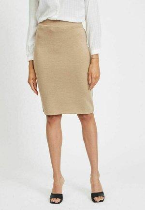VIMANY  - Pencil skirt - beige