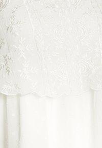 Miss Selfridge Petite - DOBBY BIB SMOCK DRESS - Vestido informal - ivory - 2