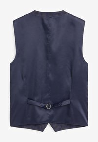 Next - CHECK SUIT - Suit waistcoat - blue - 1