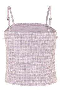 Abercrombie & Fitch - SMOCKED MATCH  - Top - lilac - 1