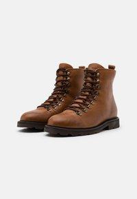 Royal RepubliQ - TEDIQ HIKER OXFORD COMBAT BOOT - Lace-up ankle boots - tan - 1