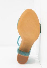 Toral - Korolliset sandaalit - flavio turquesa - 6