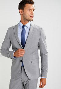 Lindbergh - PLAIN MENS SUIT - Kostym - light grey melange - 0