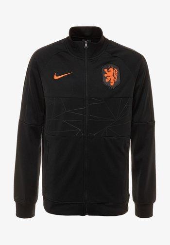 NIEDERLANDE ANTHEM  - Club wear - black/safety orange