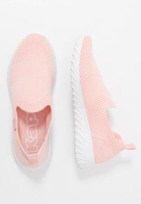 Kappa - CORK - Sports shoes - rosé/white - 1