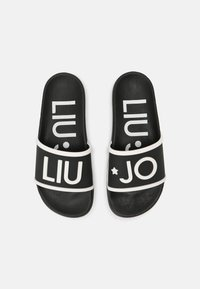 Liu Jo Jeans - KOS - Pool slides - black/white - 5