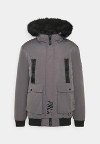 TREN TAPE CROPPED JACKET - Zimní bunda - light grey