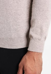 Benetton - BASIC ROLL NECK - Jumper - beige - 5