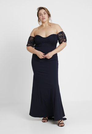 BRIDESMAIDS BARDOT FISHTAIL DRESS - Robe de cocktail - navy