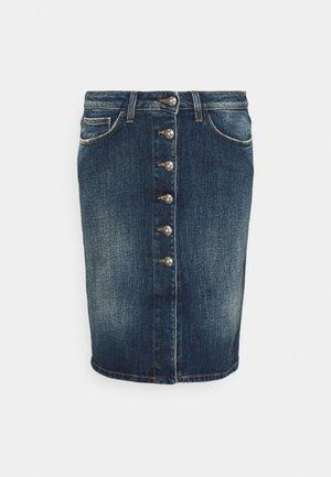 GONNA - Jeansnederdel/ cowboy nederdele - blue denim