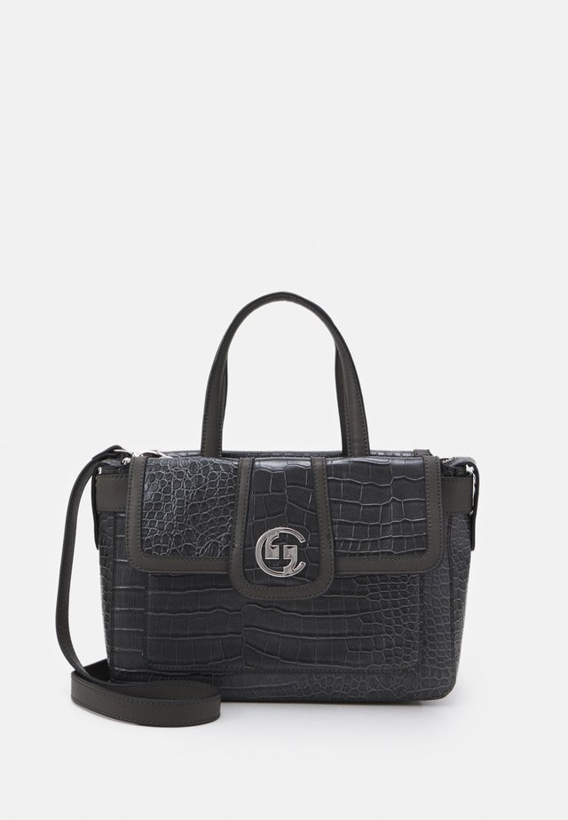 A REAL LADY HANDBAG - Handbag - darkgrey