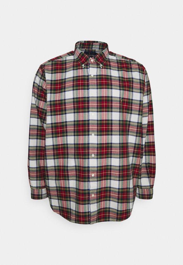 LONG SLEEVE - Shirt - white/red