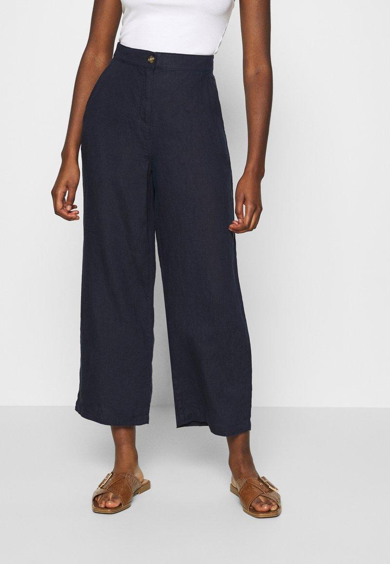 Esprit - CULOTTE - Pantaloni - navy
