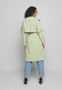 Missguided - WATERFALL COAT - Trench - mint - 1