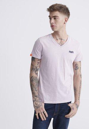Basic T-shirt - chalk pink feeder