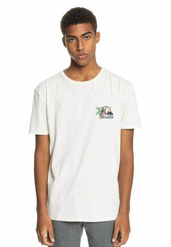 INFORMAL DISCO - Print T-shirt - snow white