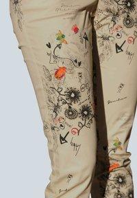 Alba Moda - Trousers - beige,pfirsich,schwarz - 7