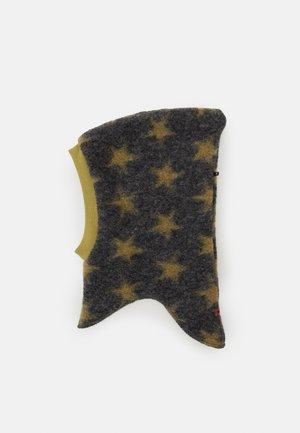 STAR BALACLAVA UNISEX - Bonnet - grau/moos
