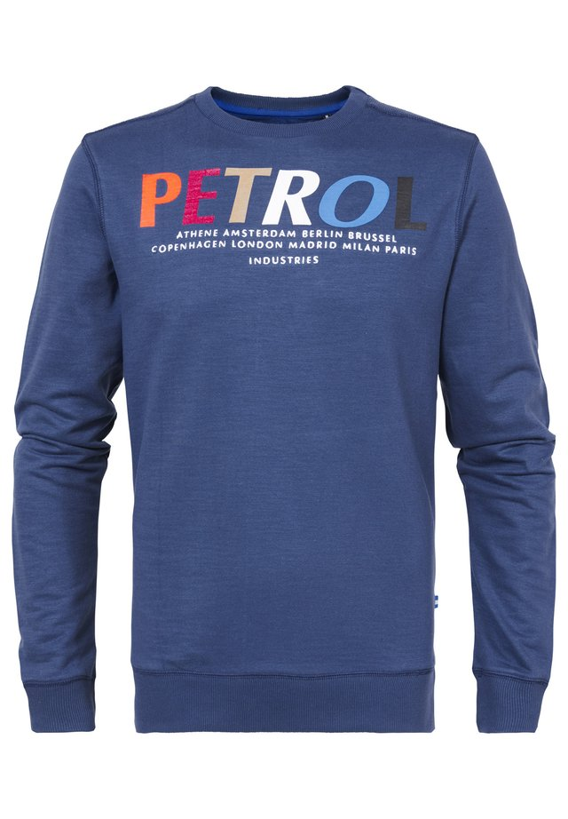 Sweatshirt - petrol blue