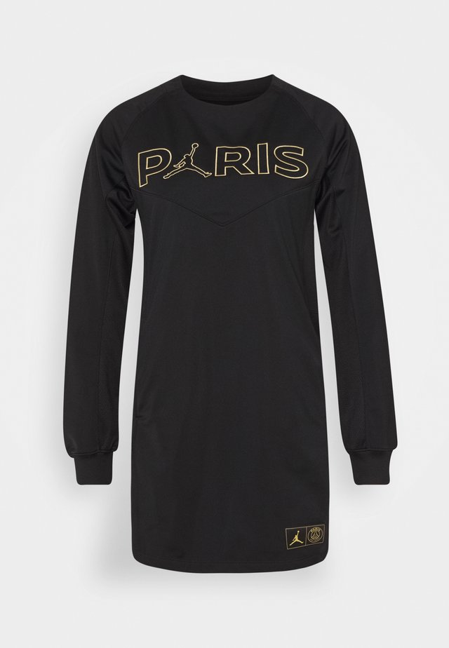 PSG DRESS - Vapaa-ajan mekko - black/metallic gold