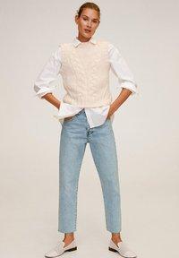 Mango - HAVANA - Jeans a sigaretta - bleu clair - 1