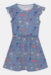Lemon Beret - SMALL GIRLS  - Žerzejové šaty - nautical blue - 0