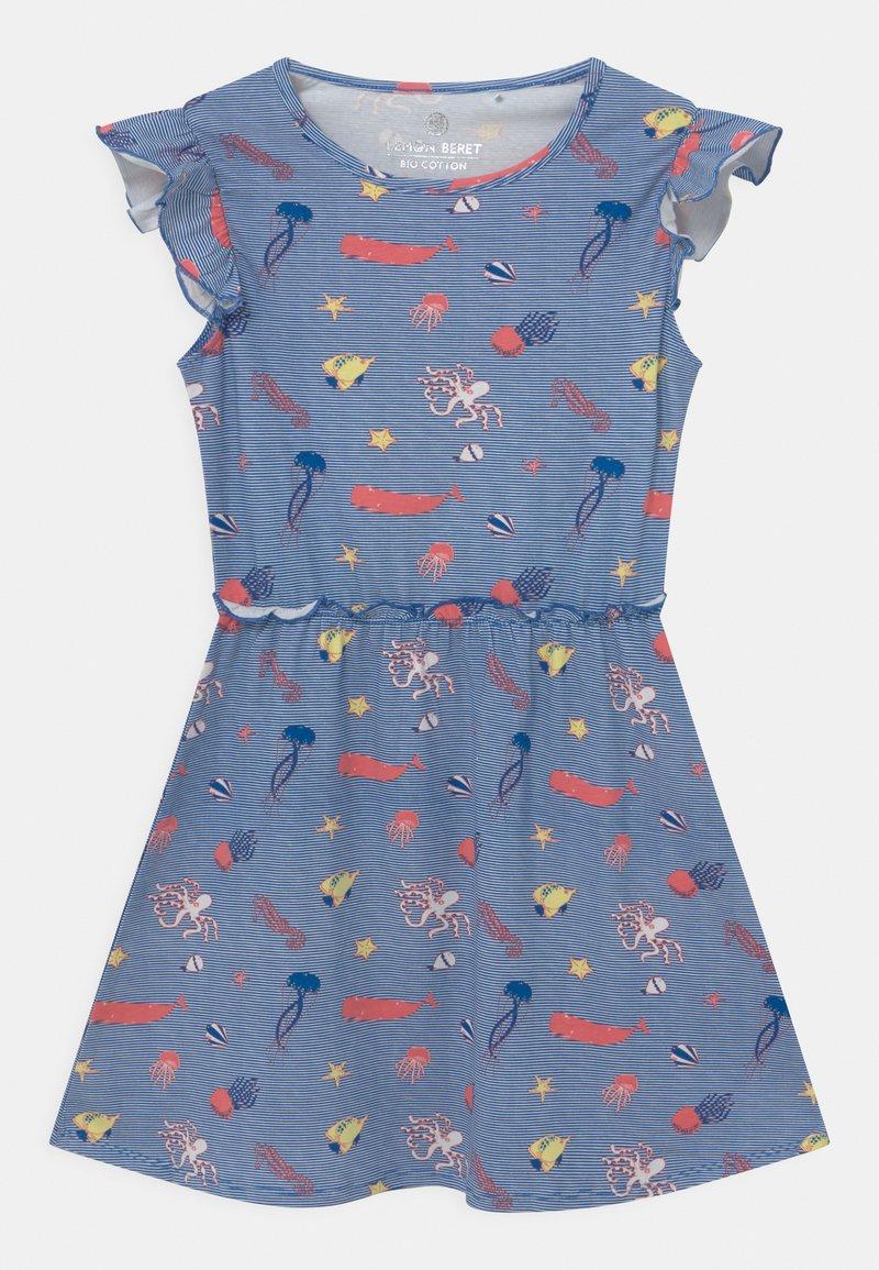 Lemon Beret - SMALL GIRLS  - Žerzejové šaty - nautical blue