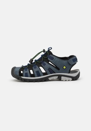 COVE SPORT - Walking sandals - navy/lime