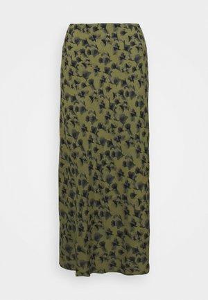 ALBI - A-line skirt - dark olive