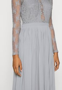 Nly by Nelly - SOMETHING ABOUT HER - Vestito elegante - grey - 5
