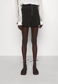 Iro - TOCEY - Jeans Shorts - used black - 0