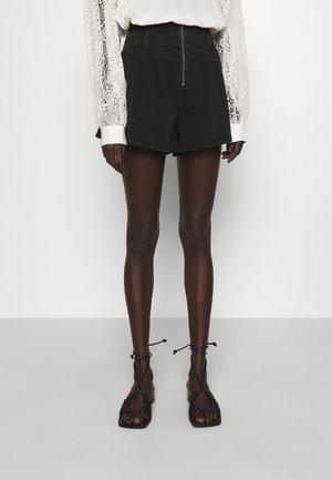 TOCEY - Shorts vaqueros - used black