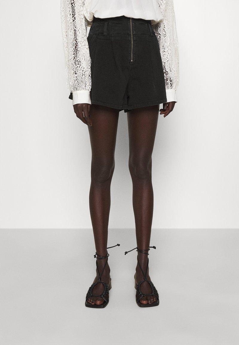 Iro - TOCEY - Jeans Shorts - used black