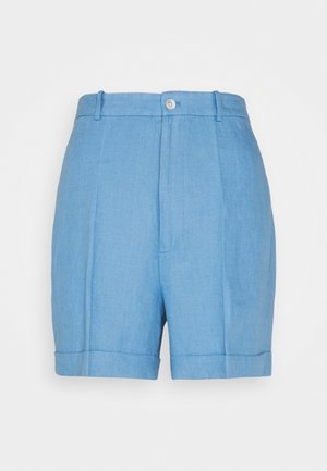 Shorts - chambray blue