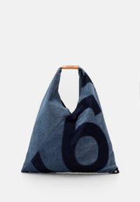 MM6 Maison Margiela - Bolso shopping - denim lavato - 1