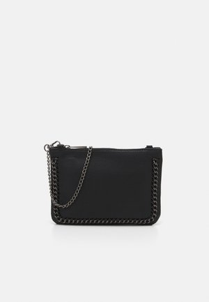 ONLELLIE CHAIN CLUTCH - Across body bag - black